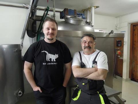 Tomek Rogaczewski i Marek Bakalarski