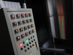 Panel sterowania temperaturą