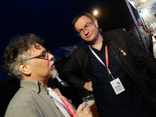 Jacek 'hasintus' Materski i Tomek 'kopyr' Kopyra