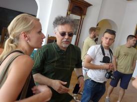 Marta Pokońska (Kormoran), Jacek Materski (Artezan)i Łukasz Szynkiewicz (Absztyfikant)