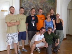 Ekipa sędziowsko-organizatorsko-blogerska