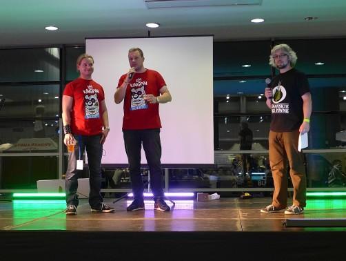 Bartek Regulski (Setka) oraz ekipa Kingpina