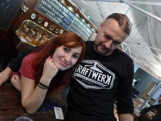 Justyna (Kraina Piwa) i Paweł Solik (Kraftwerk)