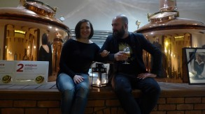 Magda i Daniel - organizatorzy Beer Geek Madness