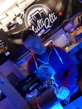 Rafał Kurbiel - współwłaściciel Multi Qlti Tap Bar