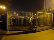 Oczekując na wejście