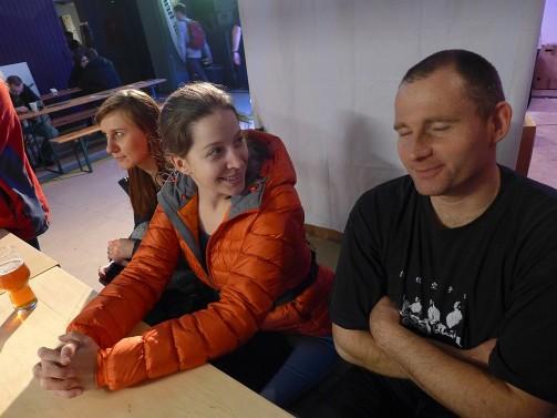 Hana i Łukasz w Strefie Piwa