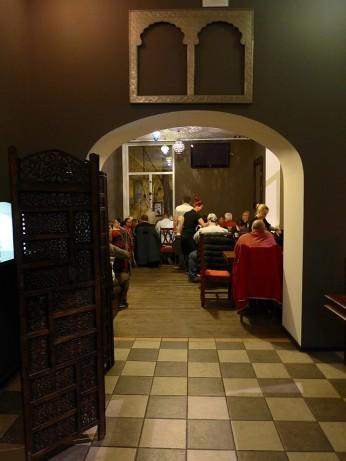 Wejście na salę restauracyjną