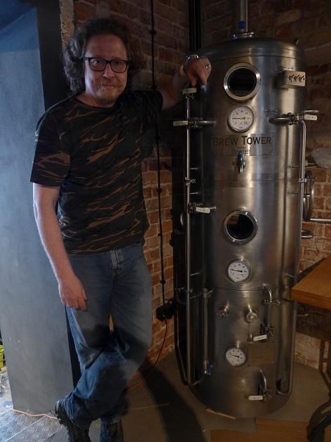 Rafał i jego Brew Tower