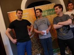 Wojtek, Michał, Janek