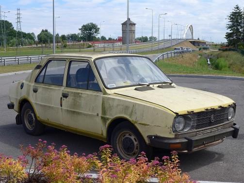I znów oldskulowa Škoda