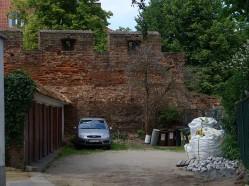 Gdańskie podwórko