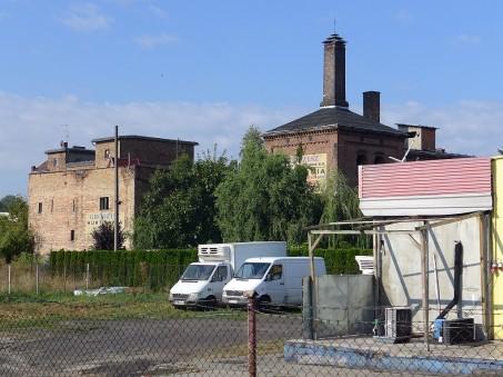 Widok od ul. Poznańskiej