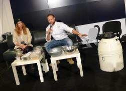 """Ela i Marcin """"Pokaz robienia lodów piwnych"""""""