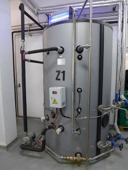 Zbiornik wody gorącej