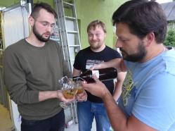 Na koniec piwo a'la kombucha fermentowane grzybkiem herbacianym!