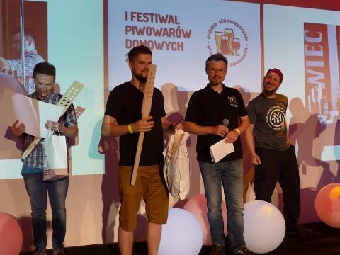 1 miejsce (Lagery - Czech Pale Lager) Bartosz Barczyk