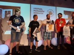 1 miejsce (Kwaśne - Brett Beer) Tomasz Rapiej